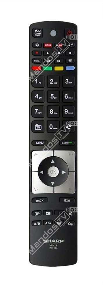 3 42 led 14 mando a distancia tv de polaroid mandos tv - Distancia para ver tv led ...