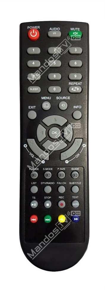 Led 1911hd tv mando a distancia tv de saivod mandos tv - Distancia para ver tv led ...
